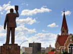 Sam Nujoma statue Windhoek