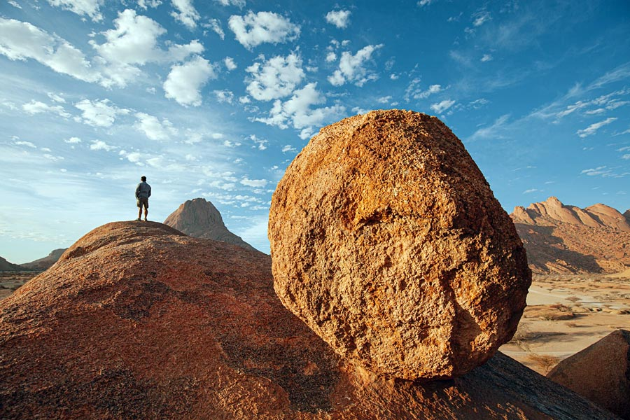 Socially distanced holiday Namibia Spitzkoppe