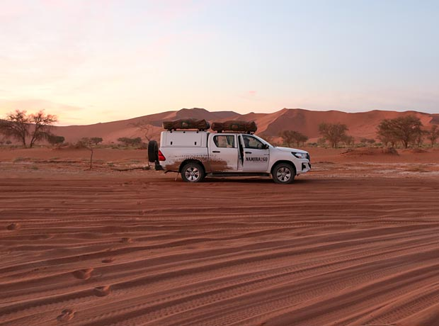 Toyota Hilux camping vehicle